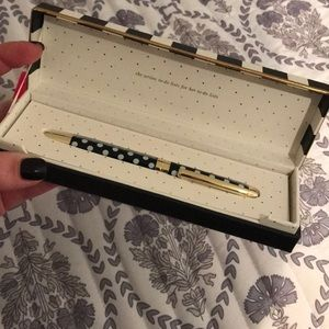 "Kate Spade ""To-Do List"" ball point pen"